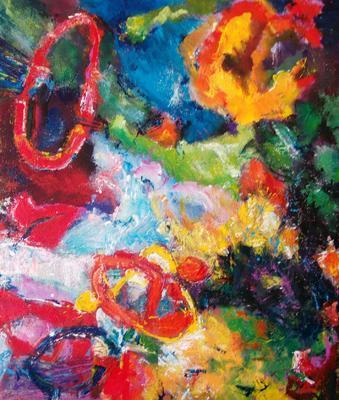 Abstraktní kompozice č. 28