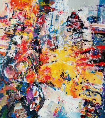 Abstraktní kompozice č. 10