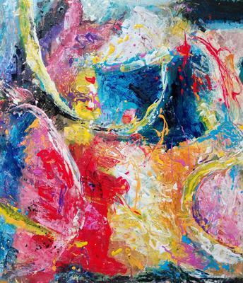 Abstraktní kompozice č. 4